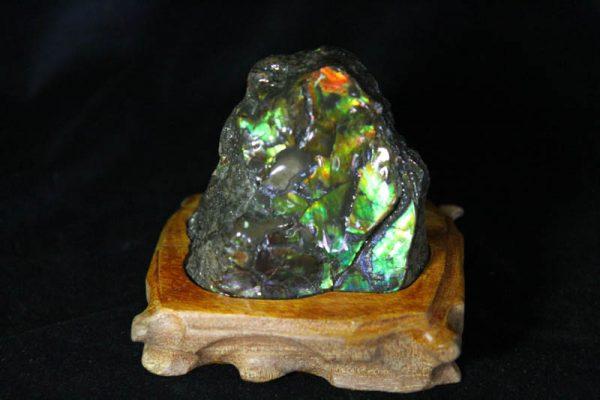 Ammolite - Suiseki Stone - AA Grade -853