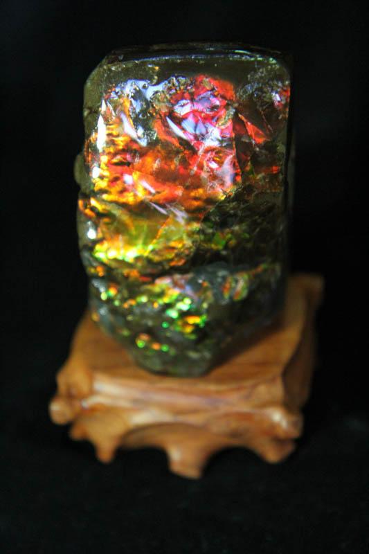 Ammolite - Suiseki Stone - AA Grade -859