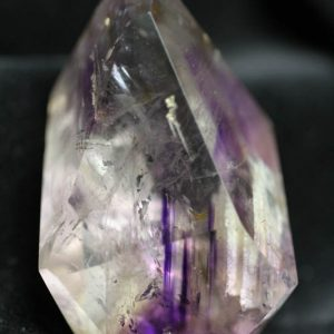 Amethyst Quartz with clear quartz -0