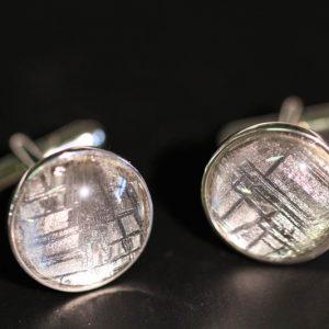 Meteorite Cufflinks -0