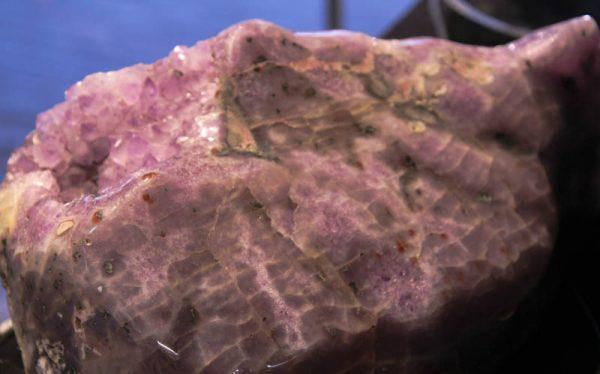 Large Polished Amethyst Geode-2614