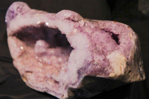 Large Polished Amethyst Geode-2616