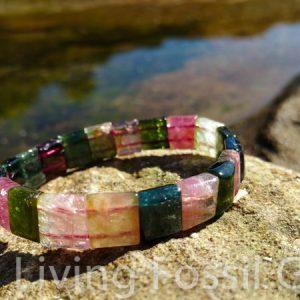 Tourmaline Bracelet - Squares-0